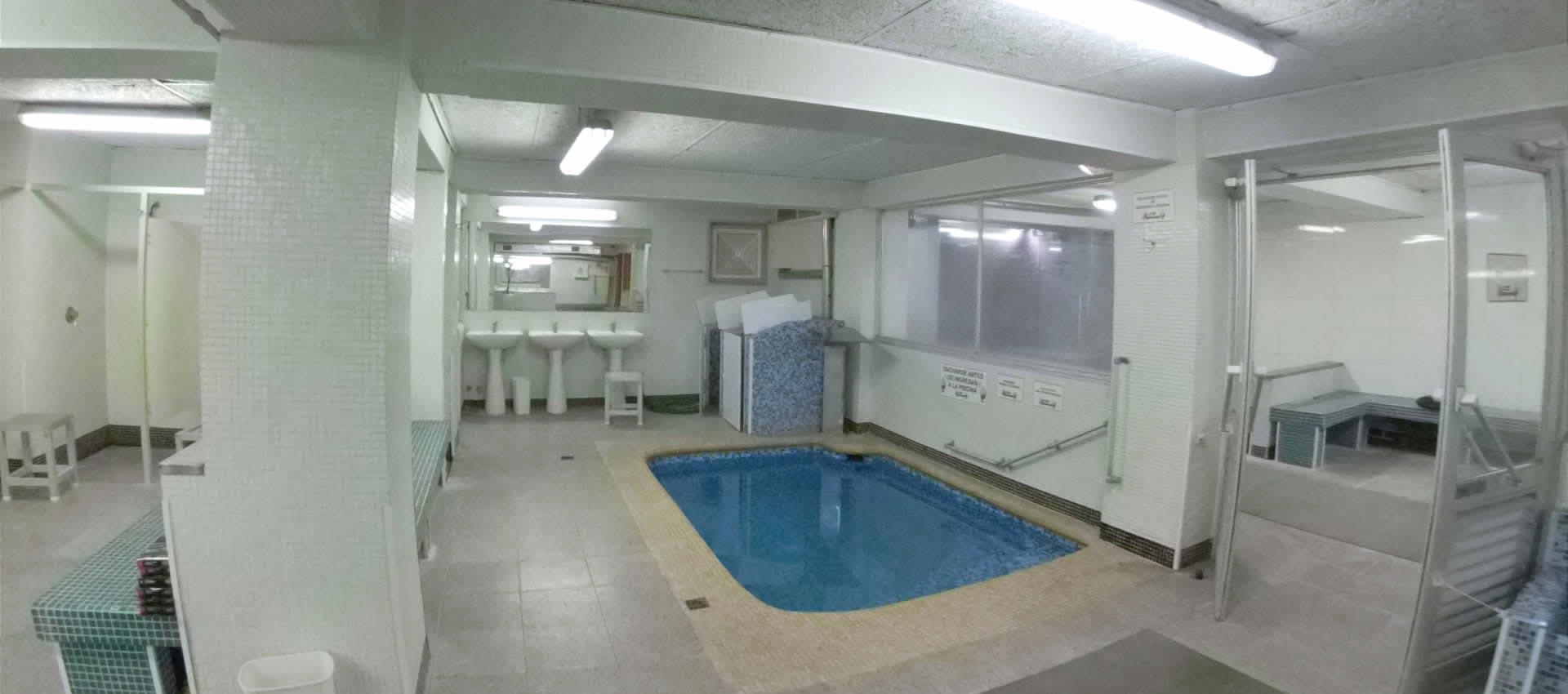 Piscina Baño Turco Sauna